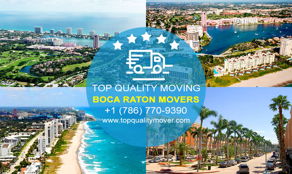 Top Quality Moving is your Professional Boca Raton Movers. Call for a FREE quote.