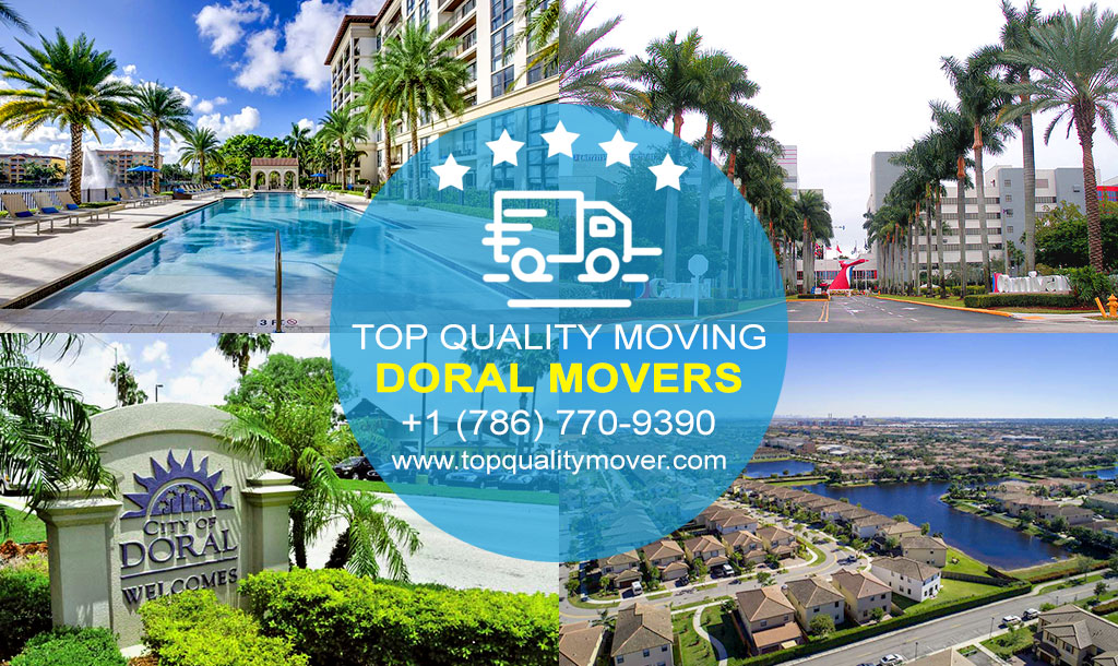 Top Quality Moving is your Professional Doral Movers. Call for a FREE quote.