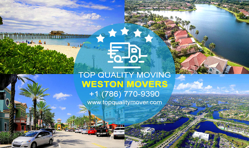 Top Quality Moving is your Professional Weston Movers. Call for a FREE quote.
